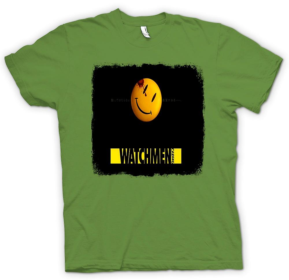 Herren T-Shirt - Watchmen - Japanese Movie