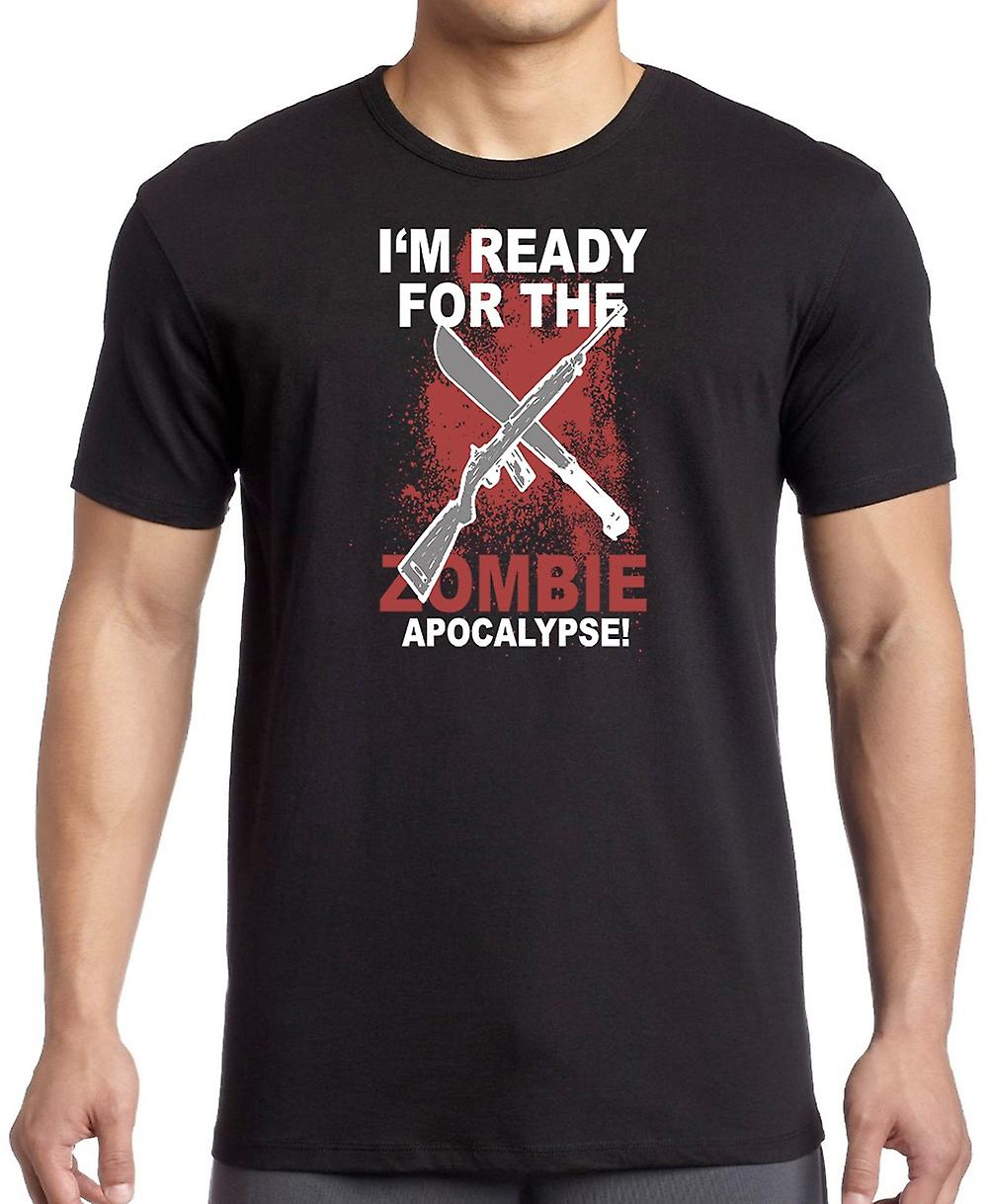 Im Ready For The Zombie Apocolypse Kids T Shirt