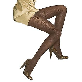 Solidea Imbrulia Patterned Support Tights [Style 43170] Prugna (Dark Purple)  XL