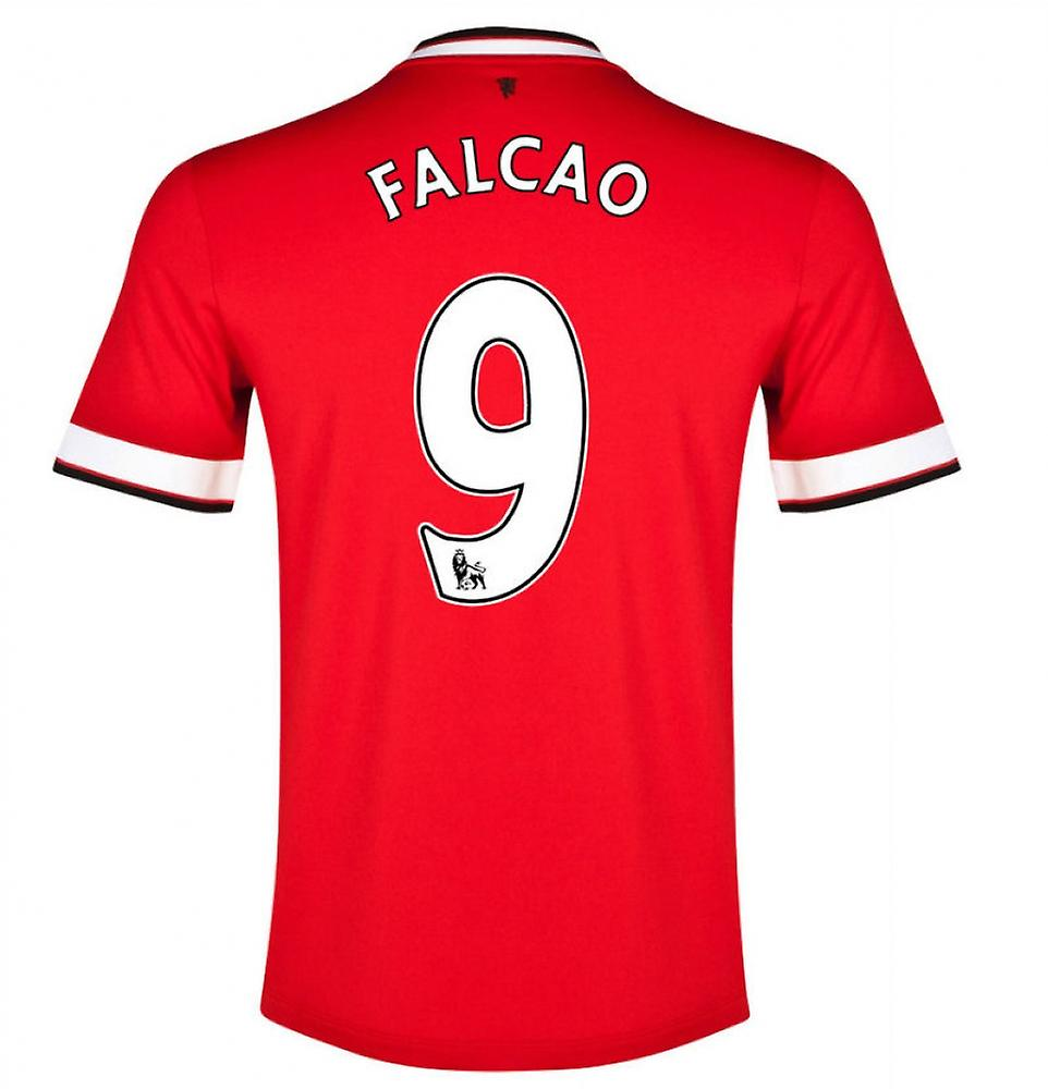 2014-15 Manchester United Home Shirt (Falcao 9)