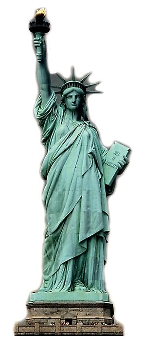Statue of Liberty - Lifesize Cardboard Cutout / Standee