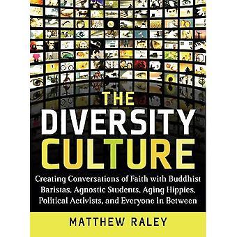 Kulturens mångfald: Skapa samtal om tro med buddhistiska Baristas, agnostiker studenter, åldrande Hippies, politiska aktivister och någonsin
