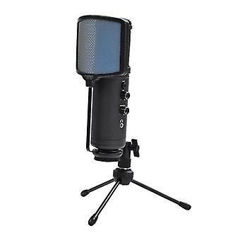 KEEP OUT XMICPRO Streaming LED black USB desktop microphone