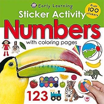 Sticker Activity Numbers (Sticker Activity Fun)