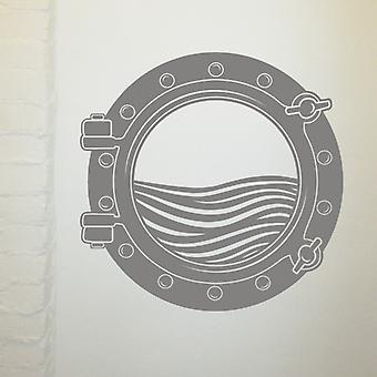 Ship's Porthole Wall Sticker Art