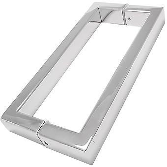 200mm Shower Door Handles (20cm Hole to Hole) - Stainless Steel