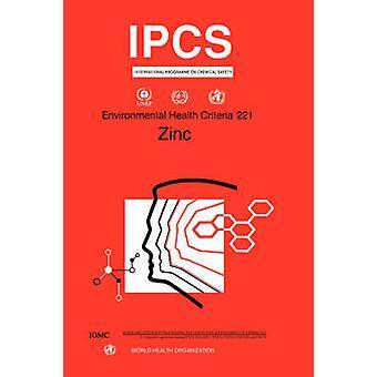 Zinc Environmental Health Criteria Series No. 221 by WHO