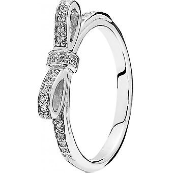 Ring 190906CZ - ring node silver women Pandora