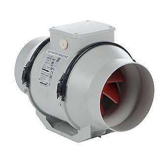 Ventilador en línea LINEO 160 máximo. varios modelos IPX4 630 m³/h