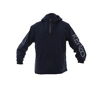 Kenzo Blue Polyester Outerwear Jacket