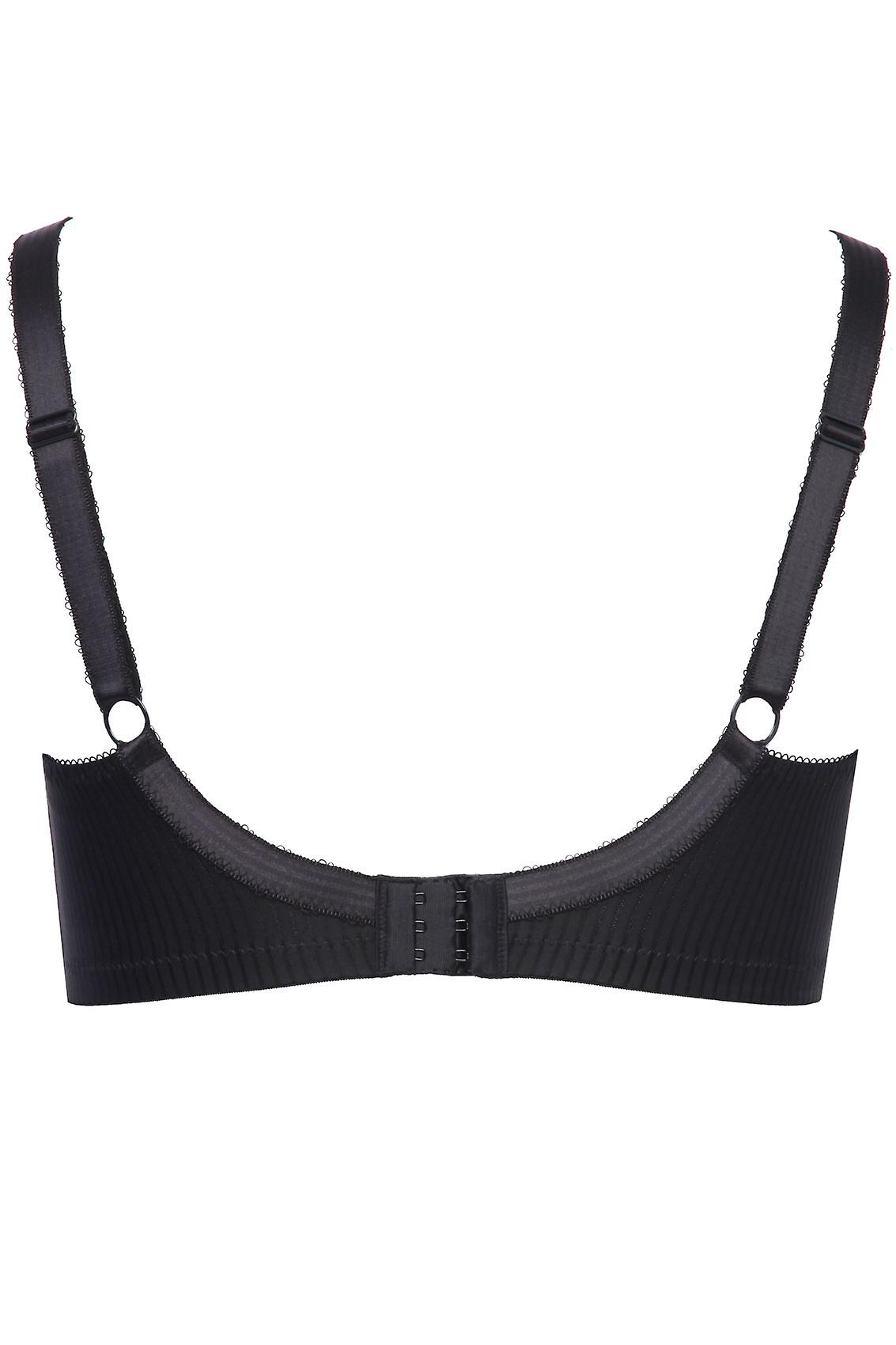 BESTFORM Black Modern Comfort Non-Wired Bra