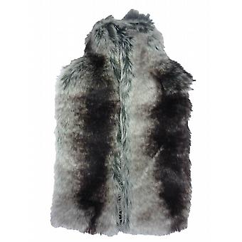 Deluxe Thick Faux Fur 2L Hot Water Bottle & Cover: Chinchilla