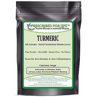 Kurkuma-95% curcumine-natuurlijke wortelstok extract poeder (Curcuma longa)