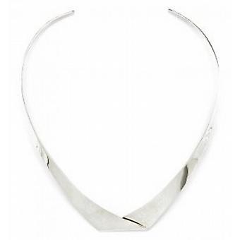 Cavendish French Sterling Silver Folded Collar