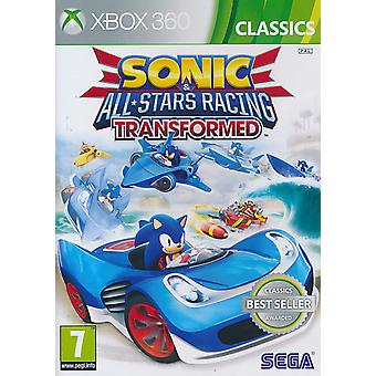 Sonic & All-Stars Racing Transformed Classics - Xbox360