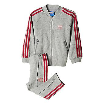 Adidas Originals baby Fleece Superstar trainingspak Set