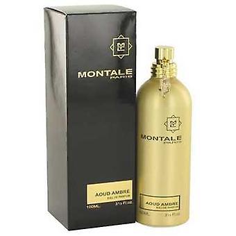 Montale Aoud Ambre By Montale Eau De Parfum Spray (unisex) 3.4 Oz (women) V728-518268