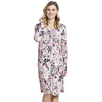Rosch 1193588-16400 Women's New Romance Pink Floral Cotton Nightdress