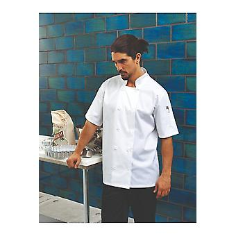 Premier short sleeved chef's jacket pr656