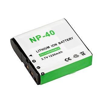 Batterie de remplacement lithium-ion BRESSER pour Casio NP-40