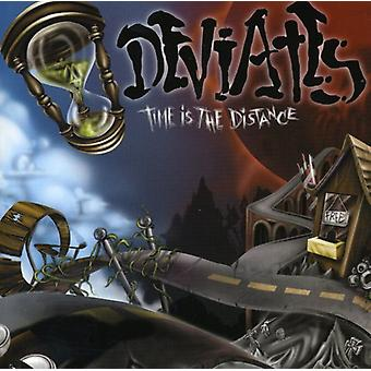 Deviates - Time Is the Distance [CD] USA import