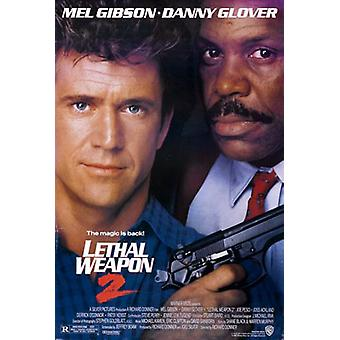 Lethal Weapon 2 (Double Sided Regular) Original Cinema Poster (Double Sided Regular) Original Cinema Poster