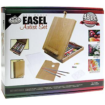Easel Artist Set-All Media REA6048