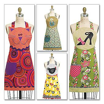 Aprons  All Sizes In One Envelope Pattern M6132  Osz