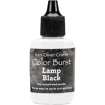 Ken Oliver Color Burst Powder 6gm-Lamp Black KNCPW-6361