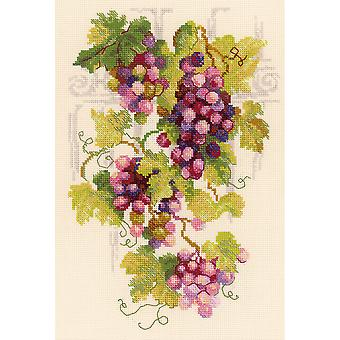 Grapevine Counted Cross Stitch Kit-8.25