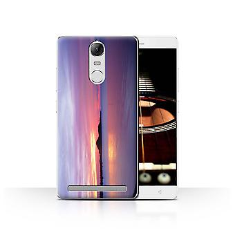 STUFF4 Case/Cover for Lenovo K5 Note/Blue Lagoon/Sunset Scenery