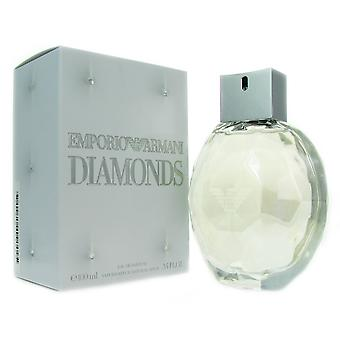 Emporio Armani diamanten vrouwen 3.4 oz EDP Spray