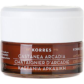 Korres Castanea Arcadia Antiwrinkle and Firming Night Cream