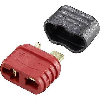 Battery receptacle T socket Gold-plated 1 pc(s) Reely