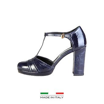Made in Italia High Heels Frauen Blau