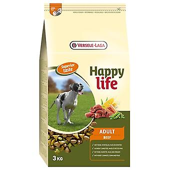 HAPPY LIFE ADULT BEEF SUPERIOR 3 KG