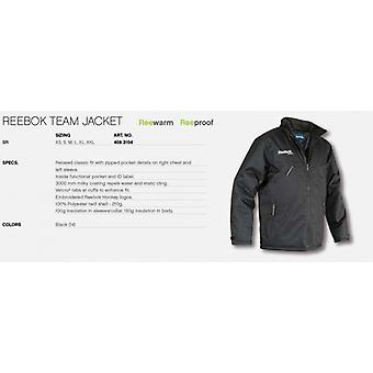 Reebok team jacket black junior