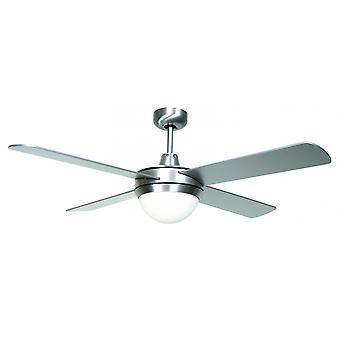 Ceiling Fan Futura Eco Chrome brushed 122 cm / 48