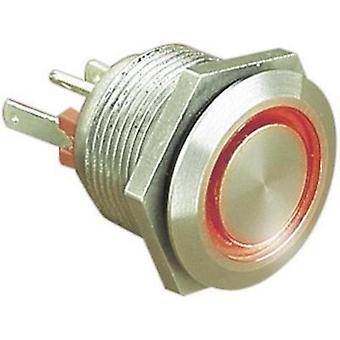 Tamper-proof pushbutton 24 Vdc 0.05 A 1 x Off/(On) ESKA Bulgin MPI002/28/RD IP66 momentary 1 pc(s)