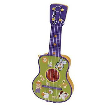 Reig Guitar 4 Strings, In Case (Toys , Educative And Creative , Music , Instruments)