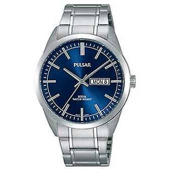 Pulsar Gents Stainless Steel Blue Face PJ6073X1 orologio