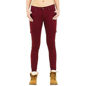 Low Rise Skinny Combat Trousers