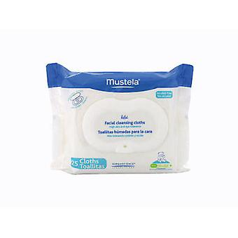 Mustela Mustela Wipes Face. 25 Units (Childhood , Diaper and changers , Wipes)