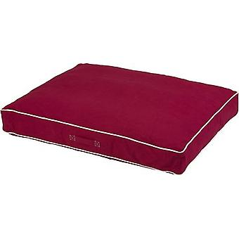 Dog Gone Smart Rectangle Bed Berry 66x86x10cm