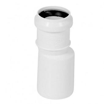 Långa raka röret minskning Connector avlopp avloppssystem 50mm till 32mm
