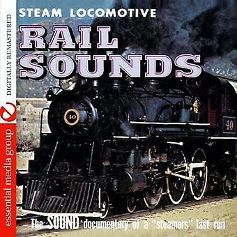 Locomotive à vapeur - importer des sons ferroviaires [CD] é.-u.