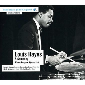 Louis Hayes & virksomhed - Super kvartetten [CD] USA import