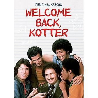 Welcome Back Kotter: Die Final Season [DVD] USA import