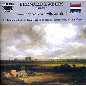 B. Zweers - Bernard Zweers: Symfoni No. 3 'Aan Mijn Vaderland