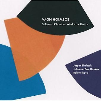 Vagn Holmboe - Vagn Holmboe: Solo & kammer værker for Guitar [CD] USA import
